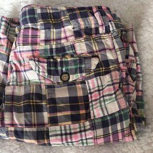 GAP Kids Madras Shorts - Size 8